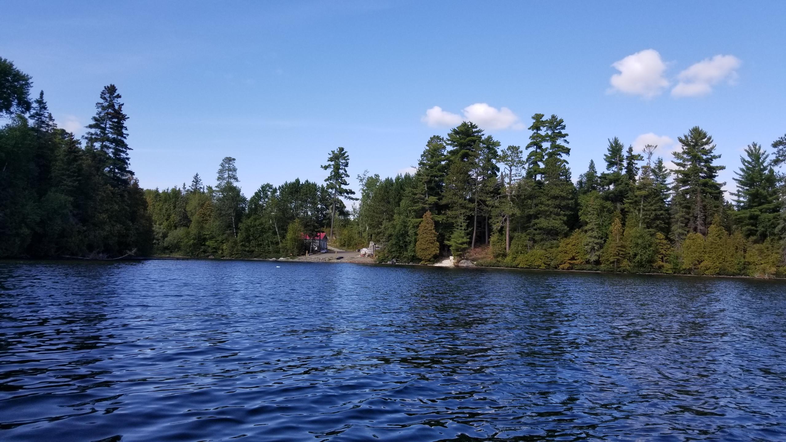 wide angle view bear island