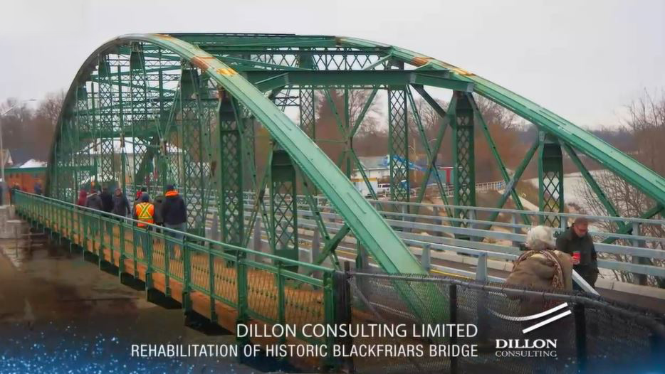 Dillon receives Award of Excellence for Rehabilitation of Blackfriars Bridge