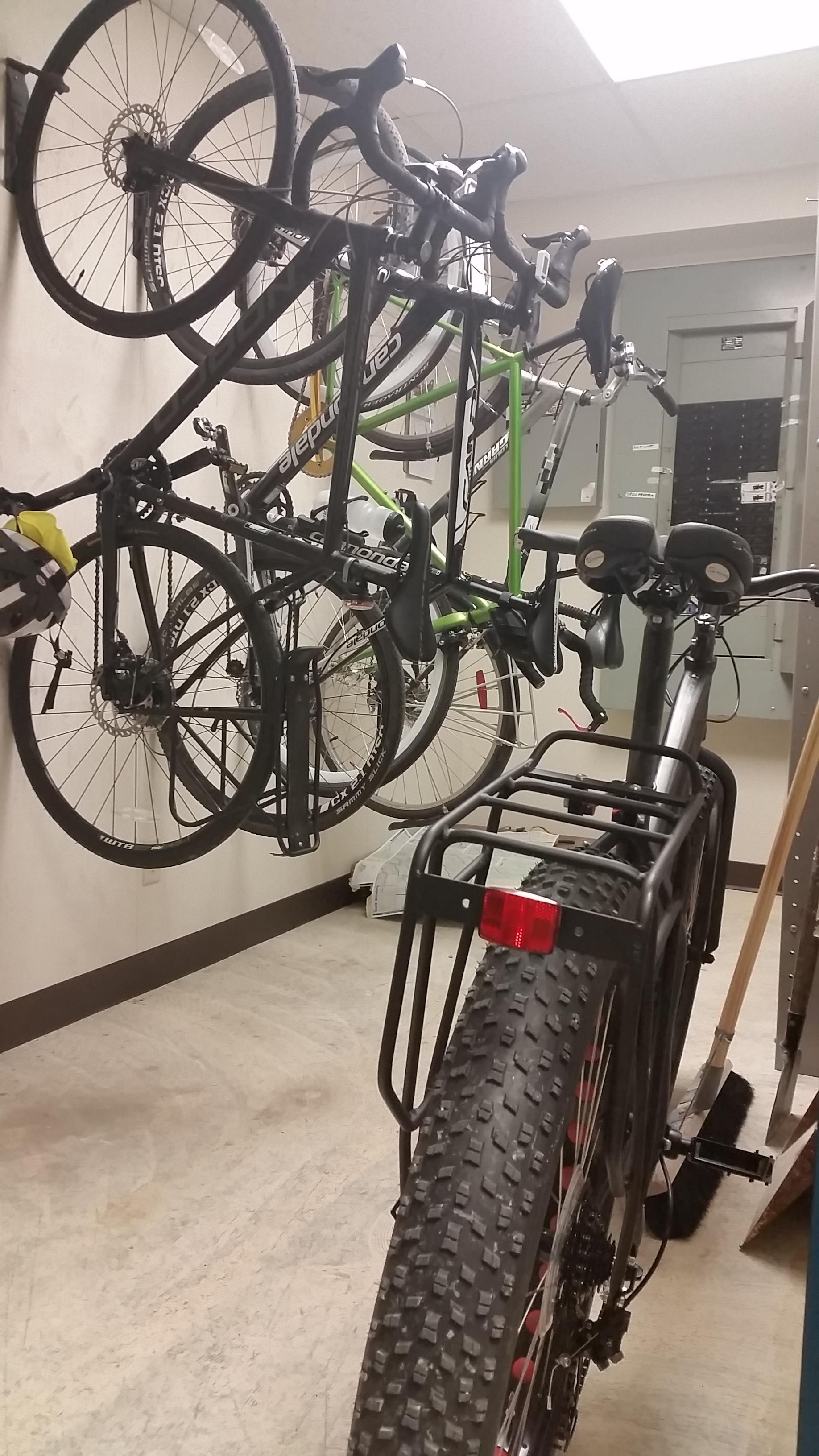 Winnipeg Office Bike Storage
