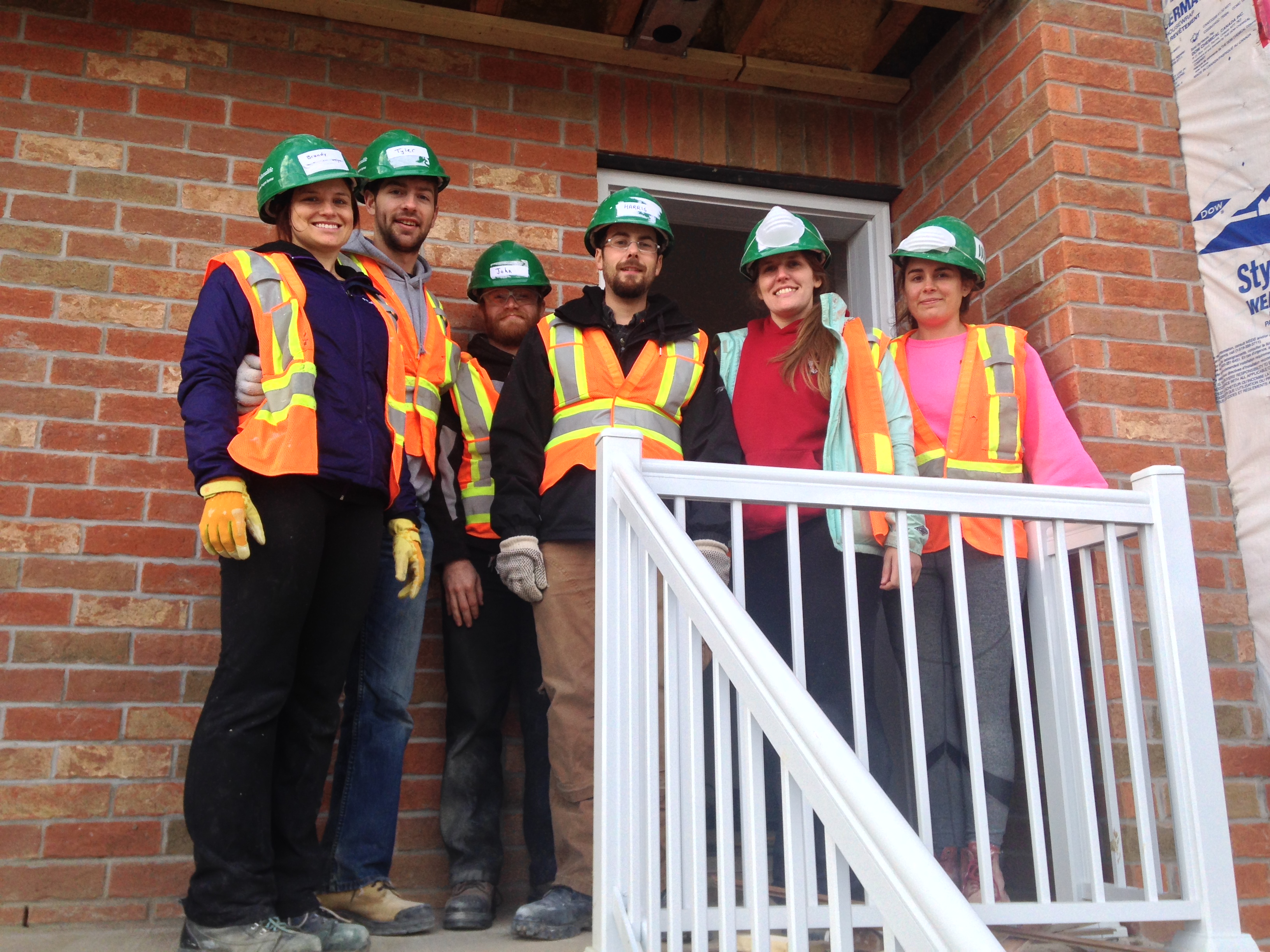 Dillon Team for Habitat for Humanity Adopt-A-Day Program, Toronto