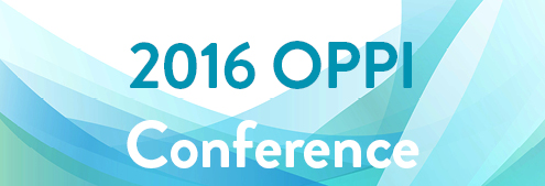 2016 OPPI Conference banner