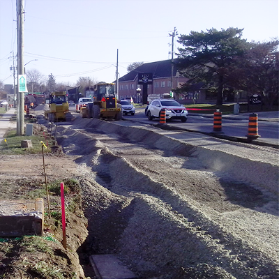 Photo of Grand Avenue Road Reconstruction - Chatham-Kent, ON