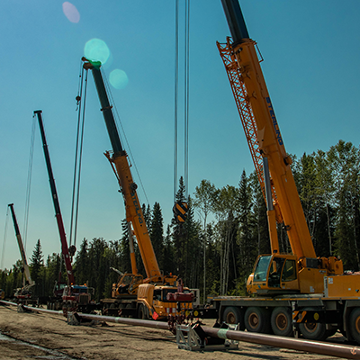 Photo of Line 21 Replacement Environmental and Socio-Economic Impact Assessment - Northwest Territories