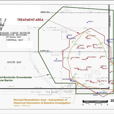 Treatment area Map