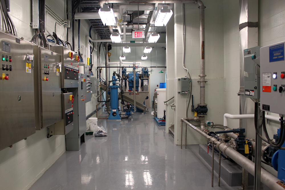 Dominion and Bridgeport Wastewater Treatment Plant, interior