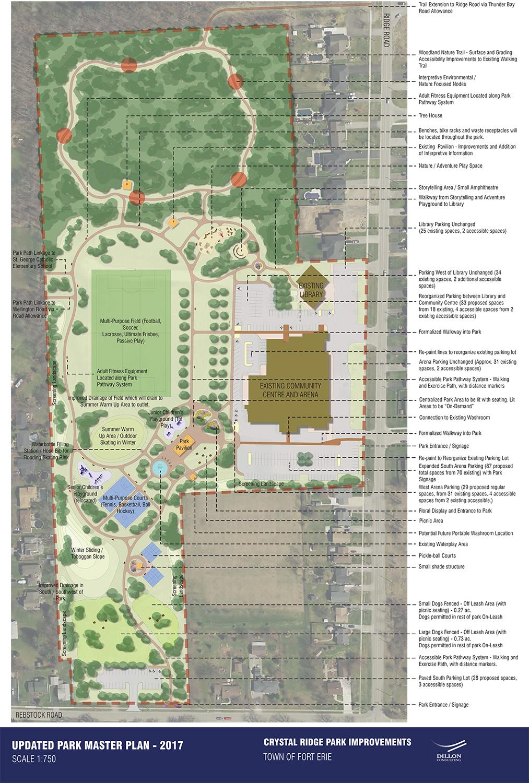 Fort Erie Updated Crystal Ridge Park Master Plan