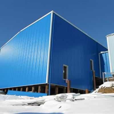 Inuvik Water Treatment Plant (Exterior)