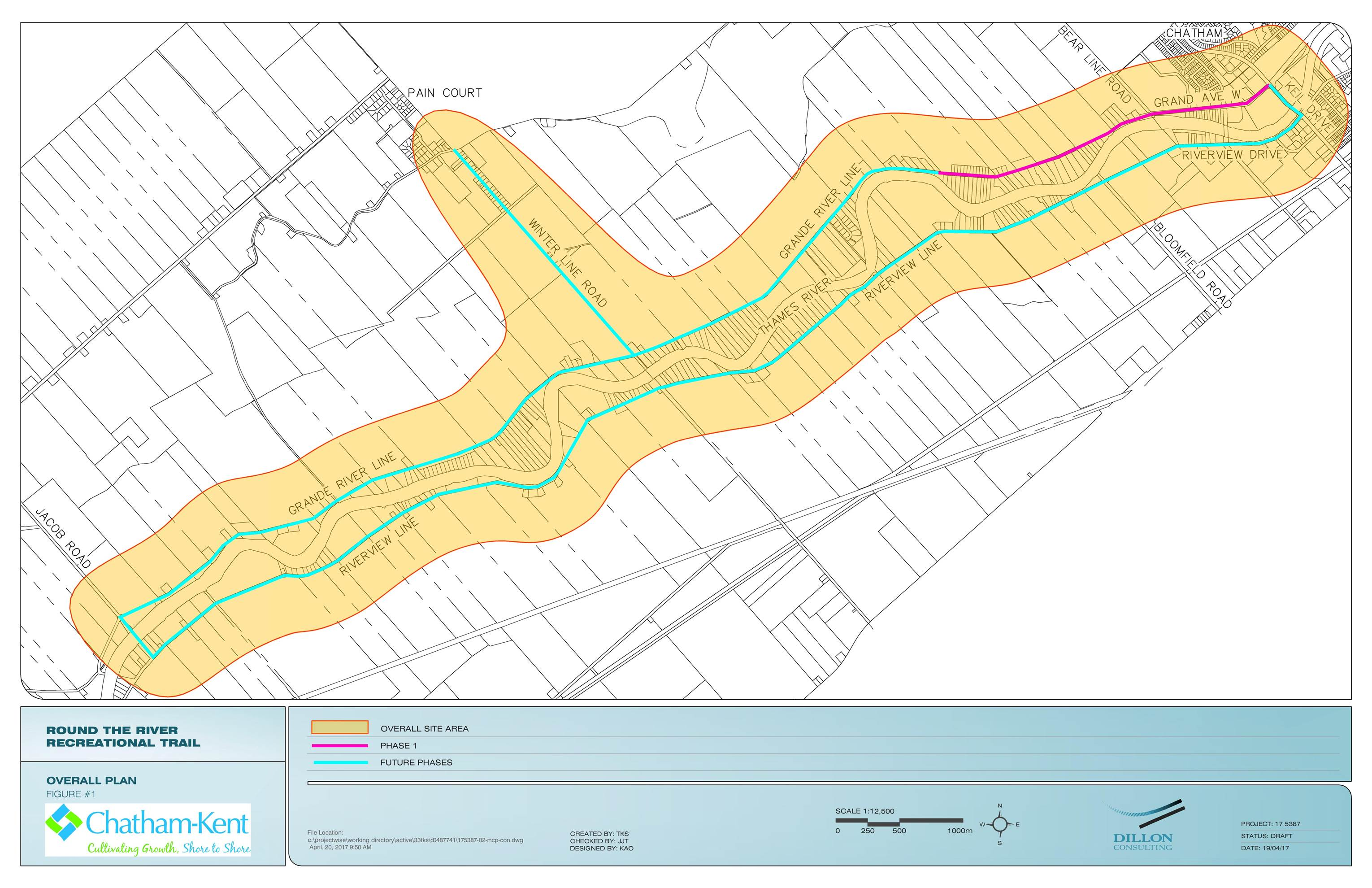Round the River Route Overall Plan