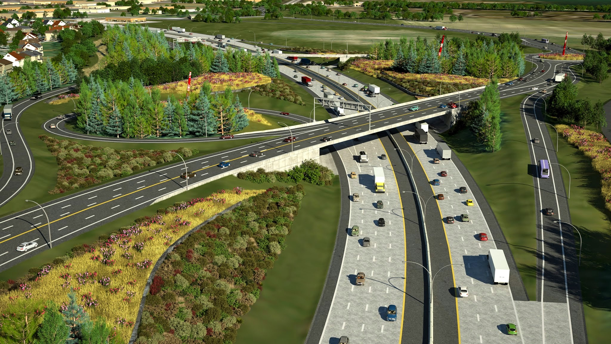 Rt. Hon. Herb Gray Parkway (formerly Windsor Essex Parkway) Final Design (Photo 3)